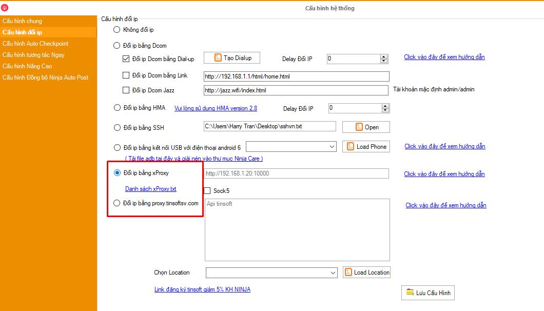 17.4 Hướng dẫn sử dụng tính năng mới của phần mềm nuôi nick Ninja Care version 17.4